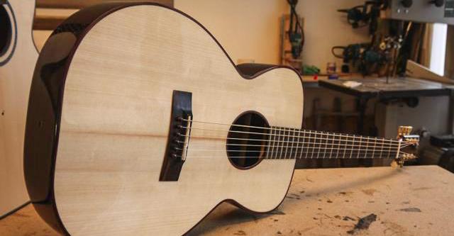 n k forster guitars welcome to luthier directory. Black Bedroom Furniture Sets. Home Design Ideas